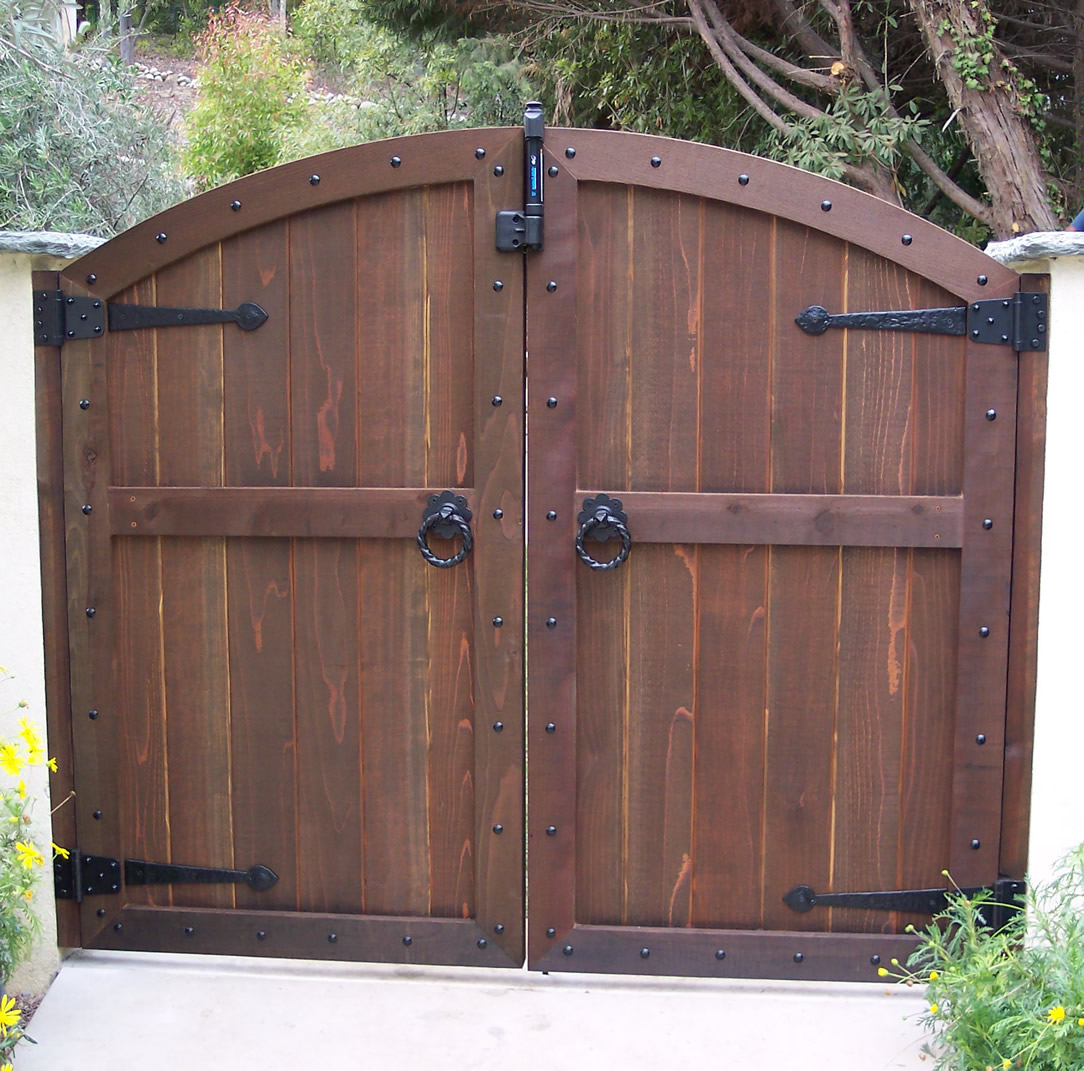 Wooden Garden Gates Designs Pictures To Pin On Pinterest