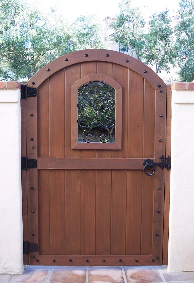 51 Garden Gate Designs Wood Inverted Arch 25 Best Ideas